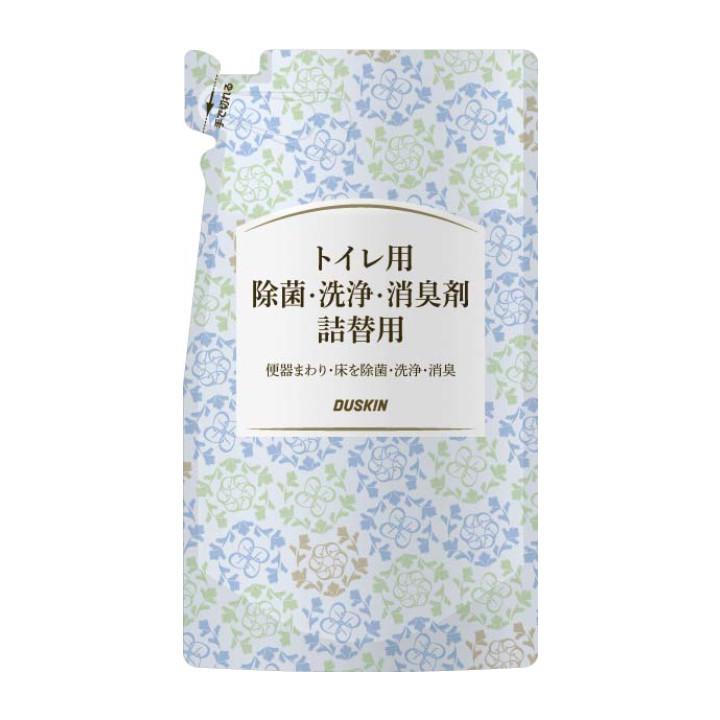 トイレ用除菌・洗浄・消臭剤 詰替用(シトラス×フローラルの香り)