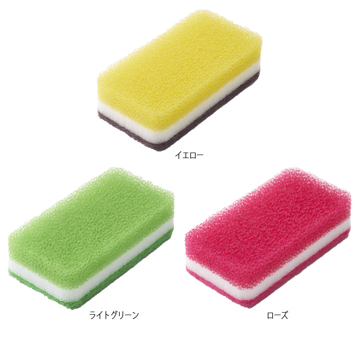 台所用スポンジ抗菌タイプ(1個入り)
